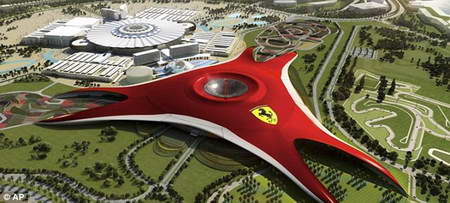 В Абу-Даби открывается гигантский парк Феррари