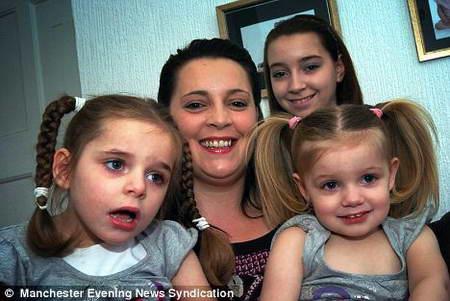 Маленькие сестры из-за генетического заболевания не доживут до 12 лет