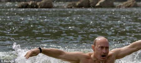 Путин #PutinShirtlessChallenge
