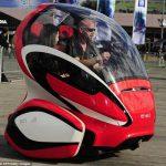 Электромобили EN-V это удивительное будущее: не нужно прав, нет пробок, свободная парковка