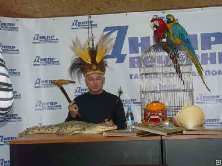 Крокодил Гена из Днепропетровска будет иметь дело с хирургами