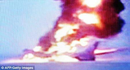 Взрыв лайнера