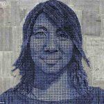 Художник Андрей Майерс создает портреты из множества шурупов