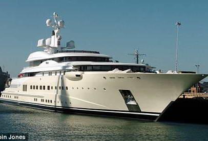 Сын нигерийского диктатора заказывает суперяхту за 380 млн. долларов