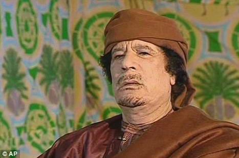 Жестокость Кадаффи против собственного народа