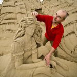 Потрясающие скульптуры из песка создаются для конкурса Sandworld