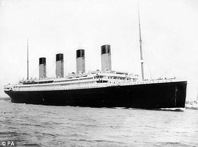 модель Титаника