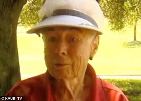 гольфист Элоиза Годфри 90 лет