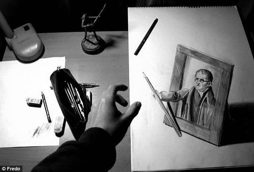 Фредо: 3D рисунки