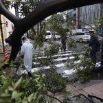Тайфун Рок обрушился на Японию — уже пять жертв
