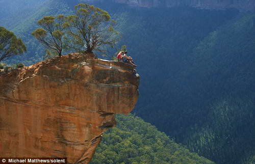 Ущелье в Голубых горах