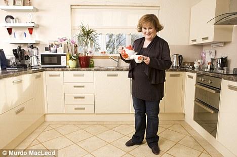 Сьюзан Бойл открывает двери своего нового дома за $480 тысяч