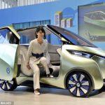 Nissan представила новый электрический концепт Pivo 3 EV