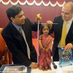 Джиоти Амге — самая маленькая женщина в мире — 61,95 сантиметров