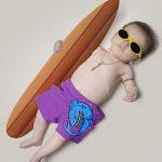 Фотографии младенцев «взрослыми» — модное хобби молодых родителей