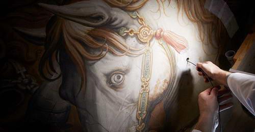 Поиск фрески Леонардо да Винчи