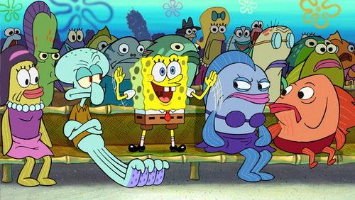 Paramount выпустит продолжение мультфильма «Спанч Боб» в конце 2014 года