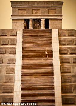 Шоколадный храм - рекорд Книги Гиннеса