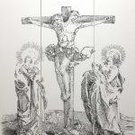 Потрясающие картины француза, сделанные из обычных канцелярских скобок