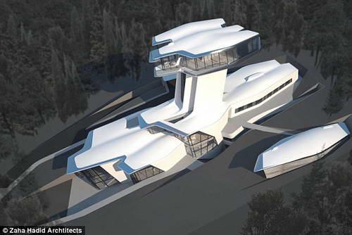 Заха Хадид автор проекта дома в Москве, который построил Владислав Доронин для Наоми Кэмпбелл