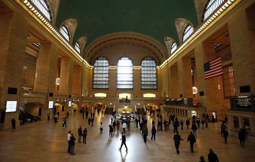 Кольцевой проект над Центральным вокзалом Нью-Йорка