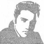 Образец искусства в стиле Etch-A-Sketch: портреты сделанные одной линией