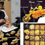 Мастер из Перми делающий свои творения из макарон и лапши
