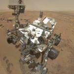 Марсоход Curiosity сфотографировал марсианский «цветок»