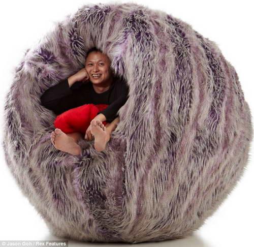 Кресло шар дизайнера Джейсона Го