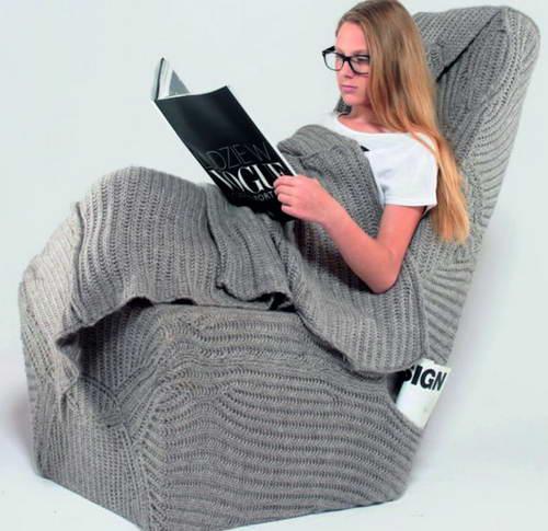Кресло одеяло