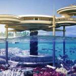 Новый проект подводного отеля в Дубаи