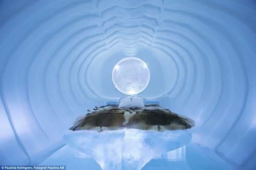 Ледяной отель: все сделанно изо льда