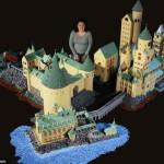 Англичанка построила замок Хогвартс из почти полумиллиона элементов лего