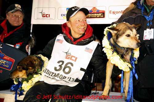 Митч Сиви стал победителем 41-х гонок «Айдитарод»