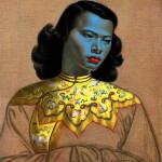 Картина «Китайская девушка» Владимира Третчикова продана на аукционе за $1,5 млн.