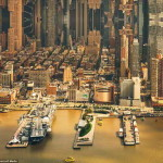 Ошеломляющие фотографии, переворачивающие города вверх ногами