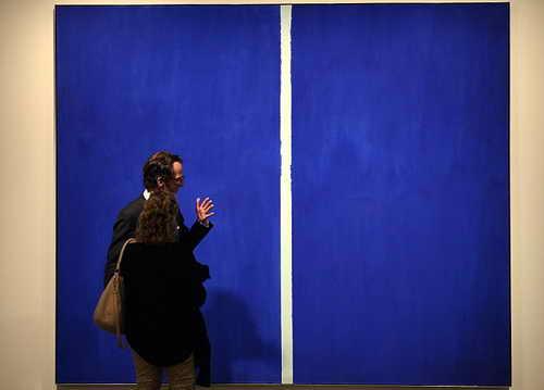 """Картина """"Onement VI""""  Барнетта Ньюмана"""