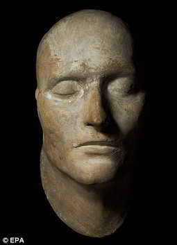 Посмертный слепок лица Наполеона