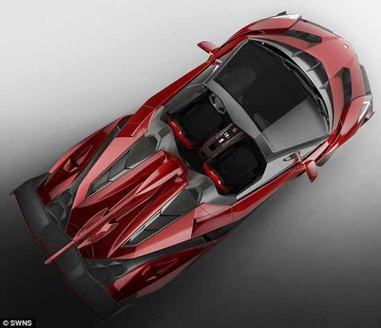 Ламборджини Veneno Roadster
