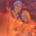 Впервые в мире американец с болезнью Дауна пробежал полный марафон