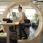 Устройство для поддержания физической формы в офисе