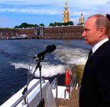 Парад ВМФ 2017 СПб на честь Дня Военно-Морского Флота
