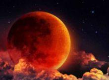 Луна. Затмение солнечное