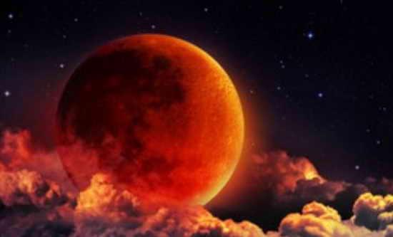 Луна. Затмение