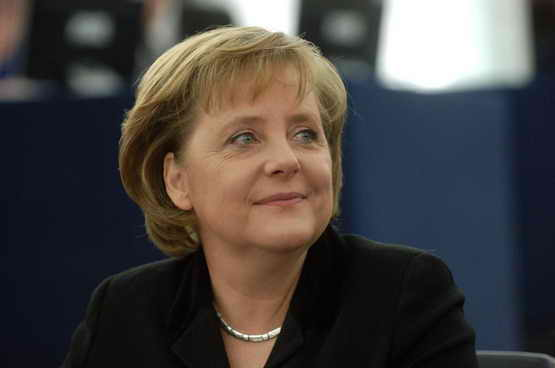 Выборы канцлера. Ангела Меркель