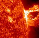 Вспышка на Солнце 2017 облучила космонавтов МКС