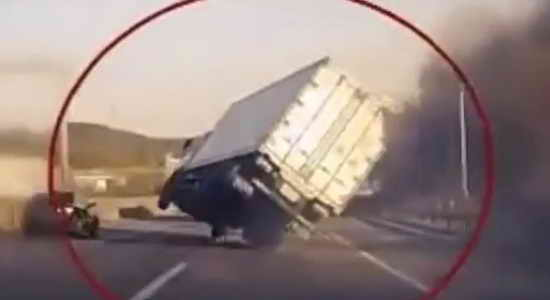 Мастерство водителя и везение спасло жизнь многим