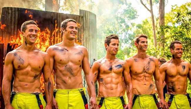 Международный день мужчин (пожарники Австралии