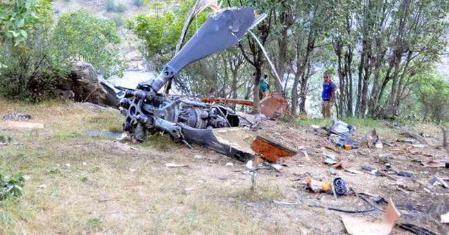 Крушение вертолета в Татарстане, пилот погиб