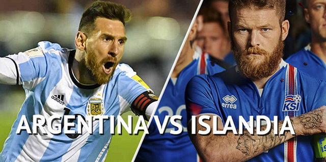 Аргентина - Исландия 16.06.2018. Прямая трансляция